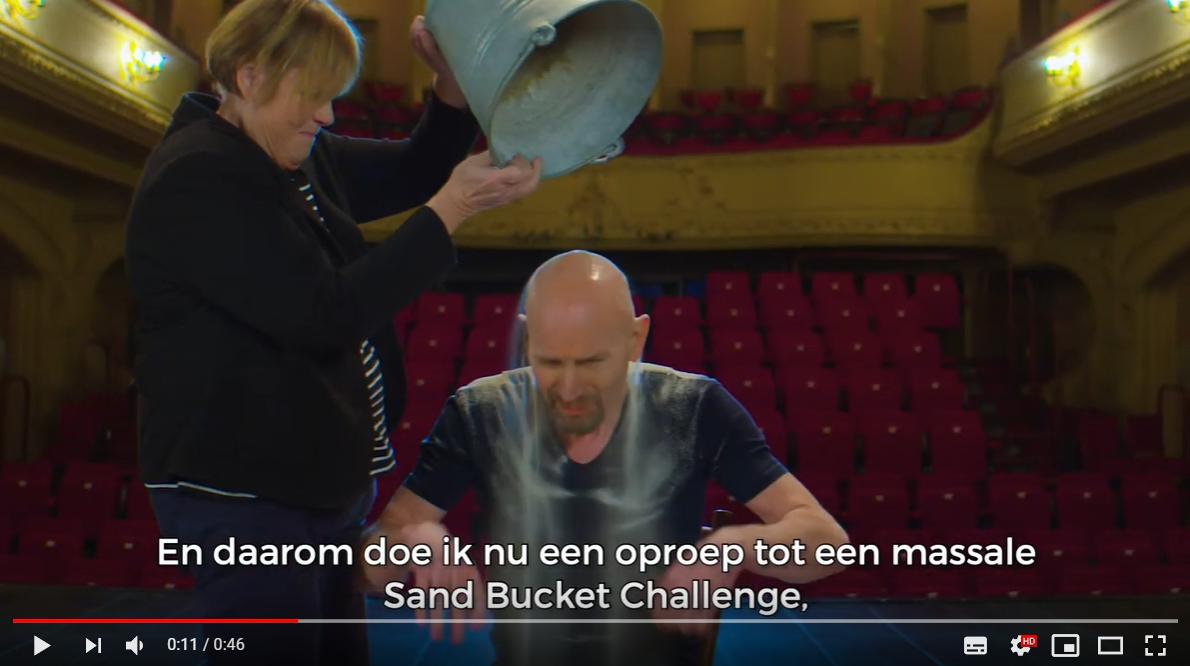 sand ice bucket challenge